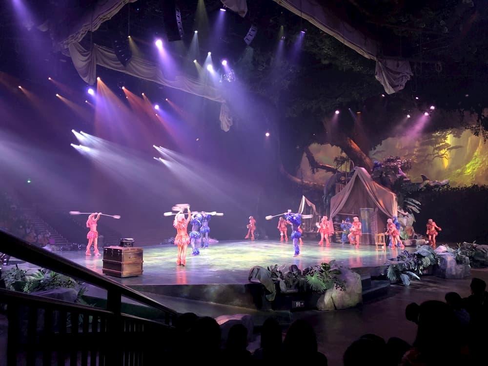 上海迪士尼樂園人猿泰山叢林的呼喚探險