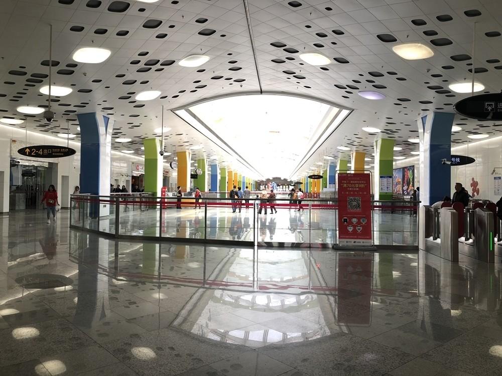 上海迪士尼地鐵站