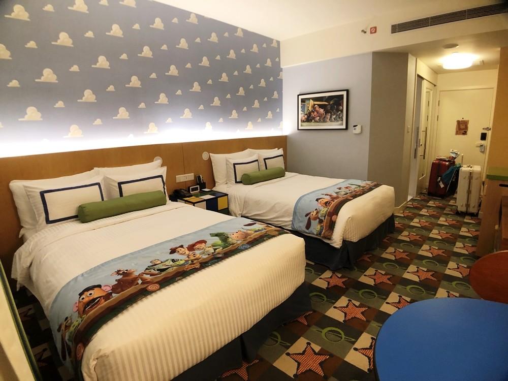 上海迪士尼玩具總動員酒店房間