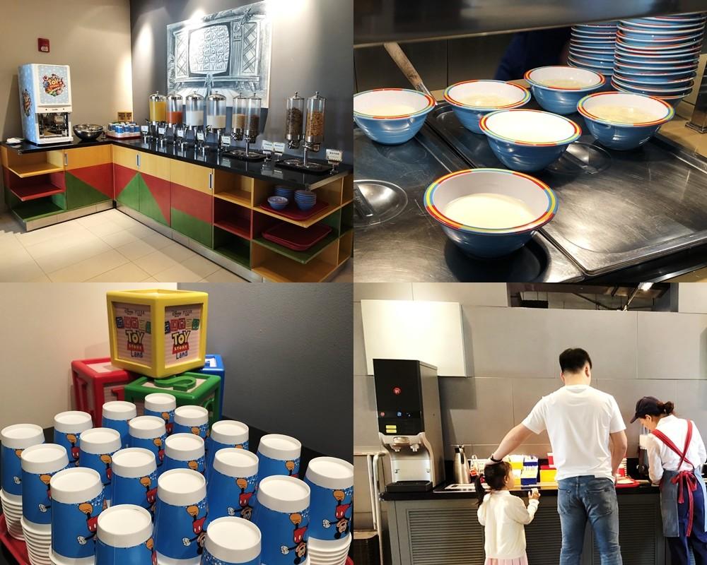 上海迪士尼玩具總動員酒店早餐