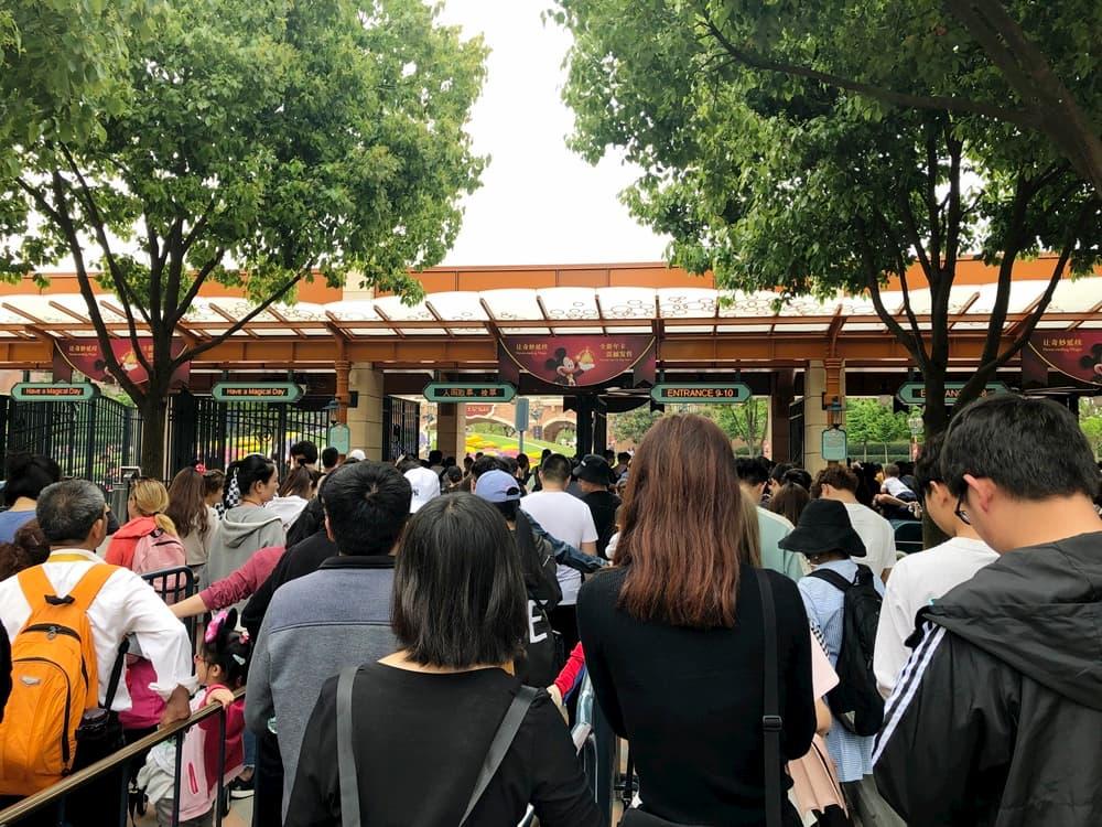上海迪士尼入口