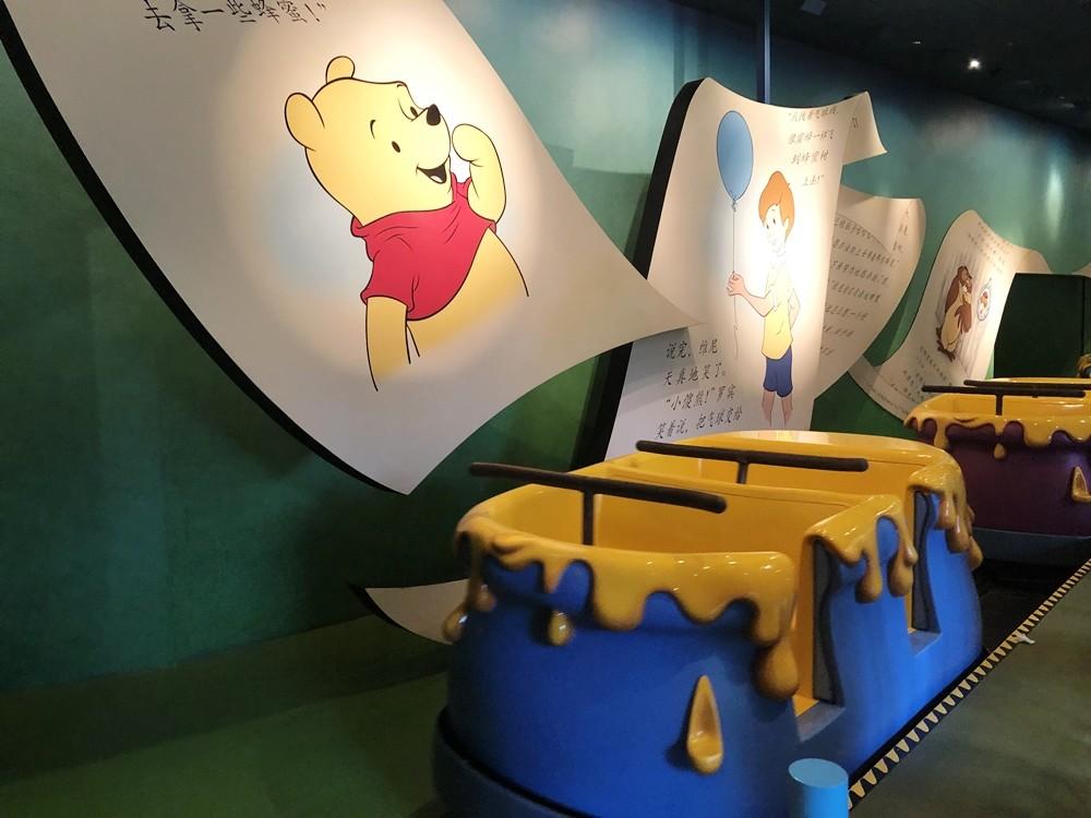 上海迪士尼樂園小熊維尼歷險記