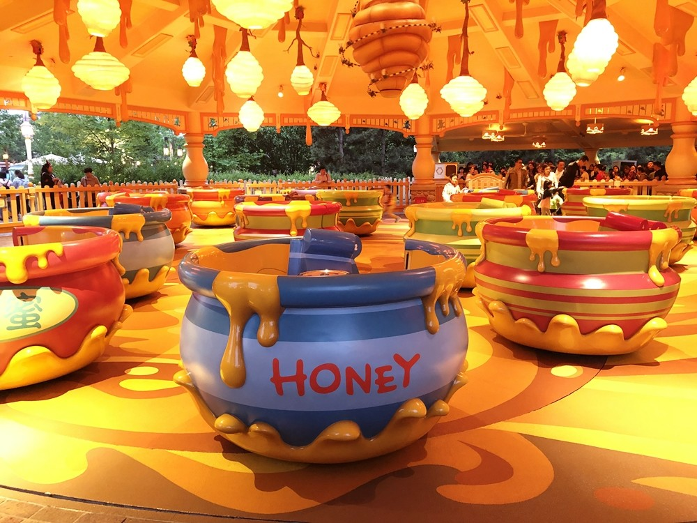上海迪士尼樂園旋轉瘋蜜罐