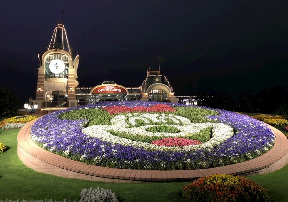 上海迪士尼樂園夜景