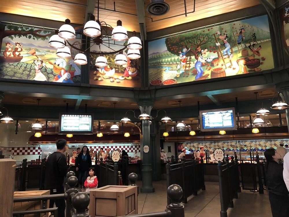上海迪士尼米奇好夥伴美味集市