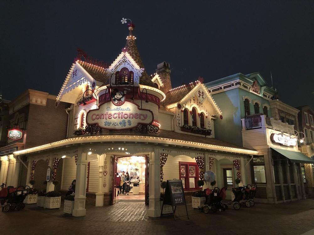 上海迪士尼米奇大街