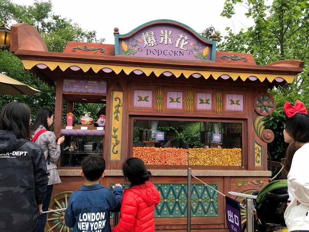 上海迪士尼爆米花