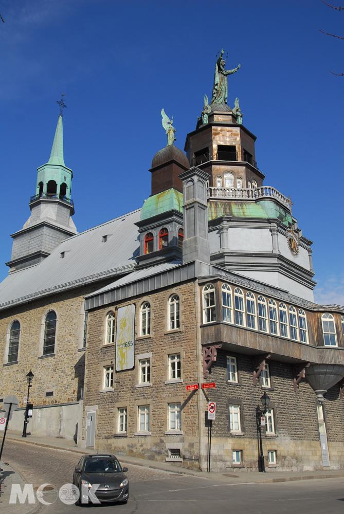 加拿大蒙特婁邦瑟克聖母教堂外觀