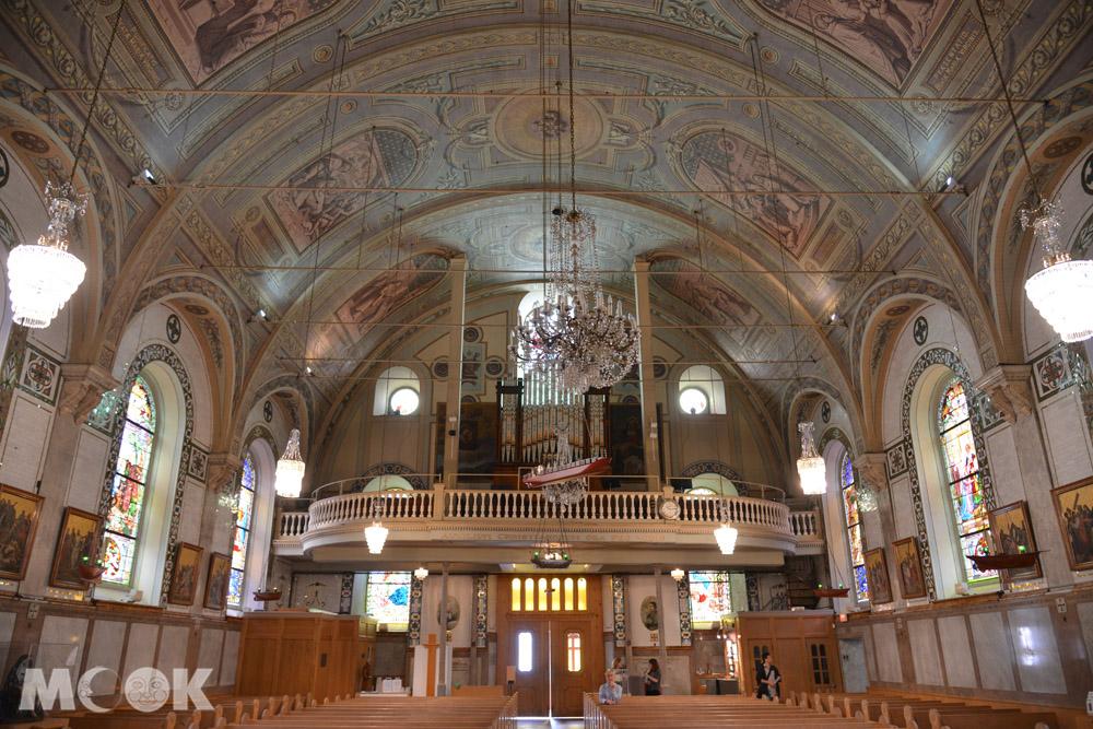 加拿大蒙特婁邦瑟克聖母教堂祭壇