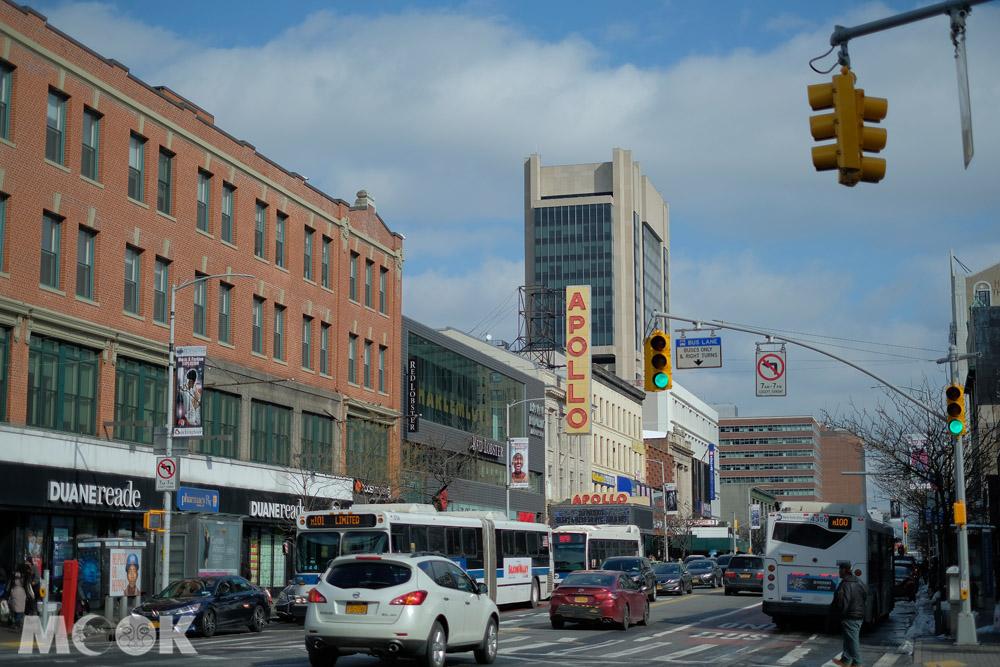 美國紐約哈林區的阿波羅劇場外觀
