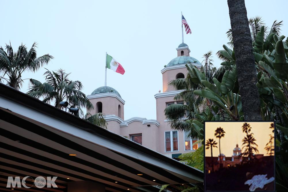 美國加州比佛利山大飯店外觀