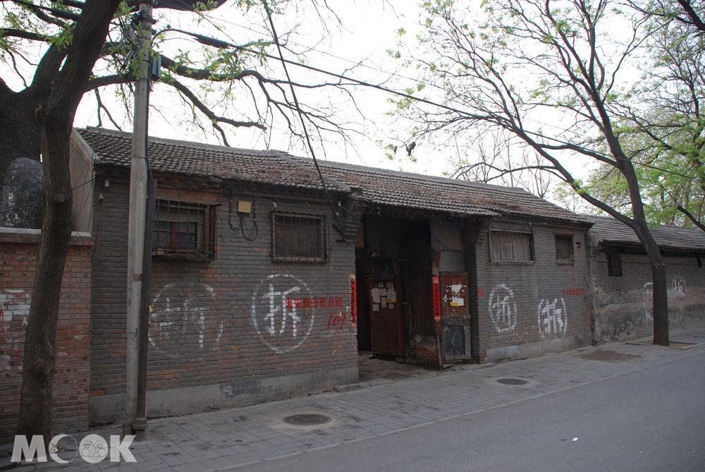中國北京待拆的胡同