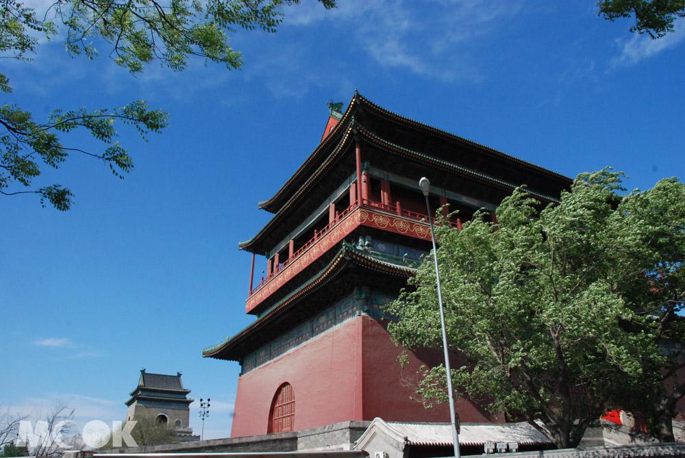 中國北京的鐘鼓樓